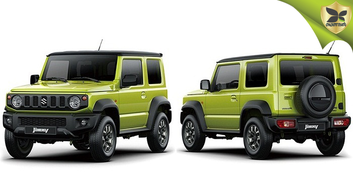 Suzuki Jimny Officially Revealed On Global Website
