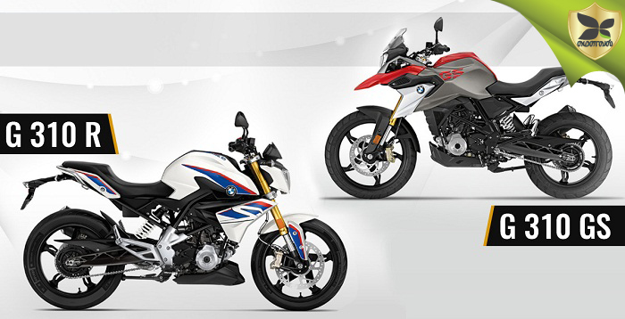 Finally BMW G310R And G310GS To Be Launched On 18th July