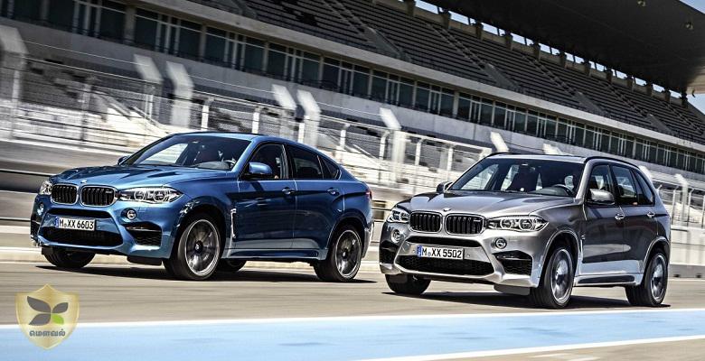 அக்டோபர் 15 அன்று வெளியிடப்படும் BMW X6M மற்றும் X5M
