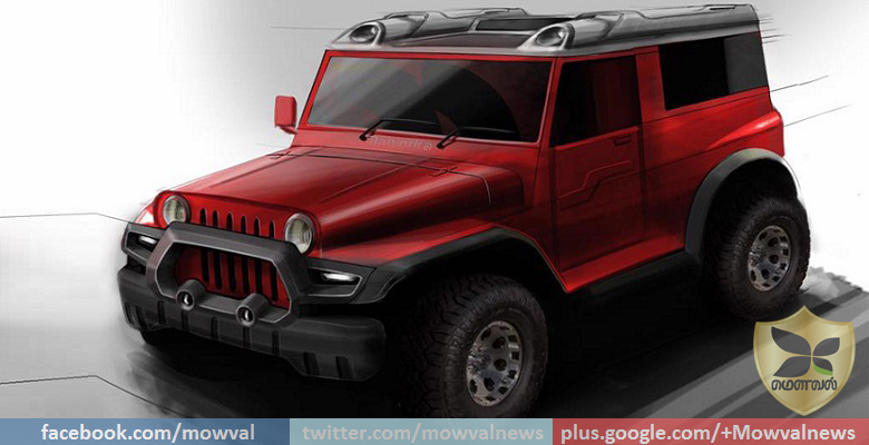 DC Design Teases New Modified Mahindra Thar Concept