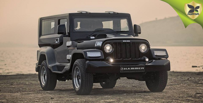 DC Design Revealed All New Mahindra Thar Hammer Concept