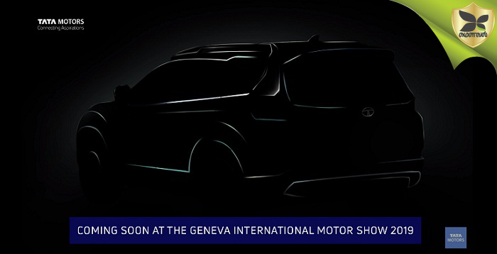 Tata Harrier-Based 7 Seater SUV Teased