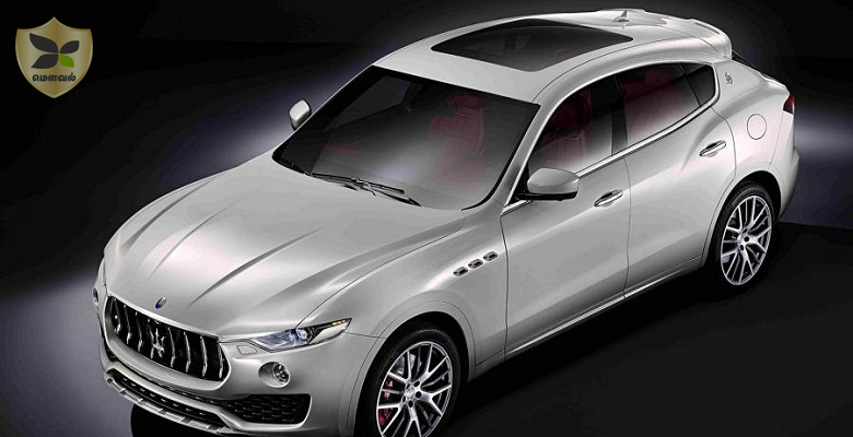 Maserati Levante SUV introduced at the Geneva Motor Show