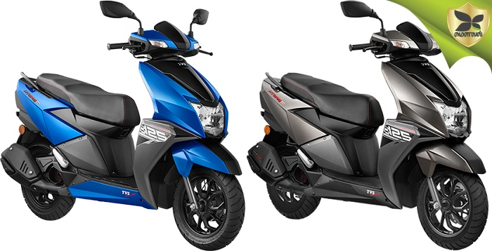 TVS NTorq Launched With Two New Metallic Colours