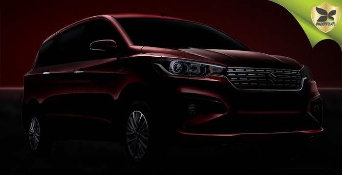 New Gen 2018 Maruti Suzuki Ertiga To Be Launched Tomorrow