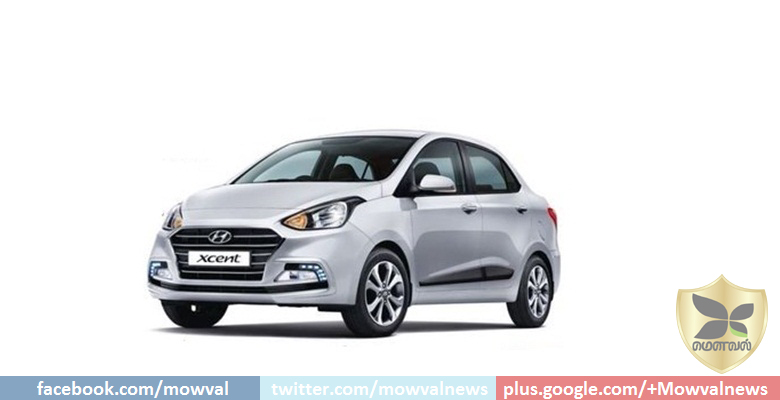 New Hyundai Xcent Facelift To Be Launched Tomorrow