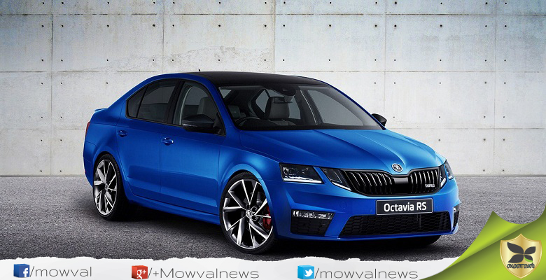 Skoda Octavia RS to be launched on 30 August