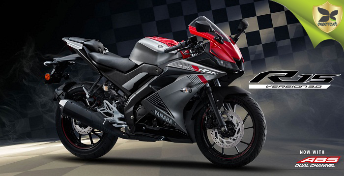 Now Yamaha YZF-R15 V3.0 Available With Dual-Channel ABS