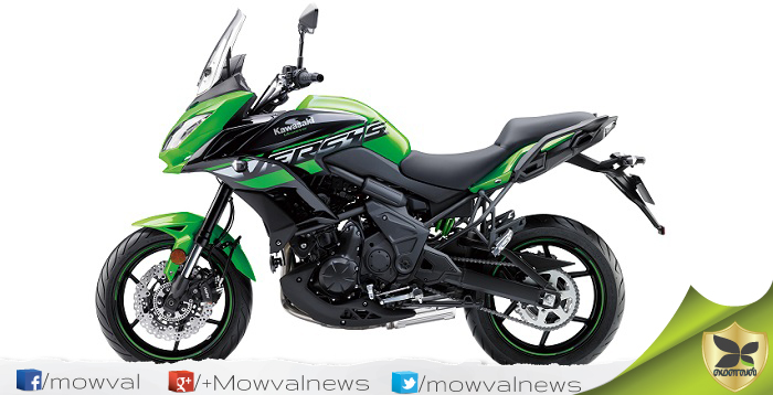 Kawasaki Launched 2018 Versys 650 With Price Of Rs 6.5 lakh