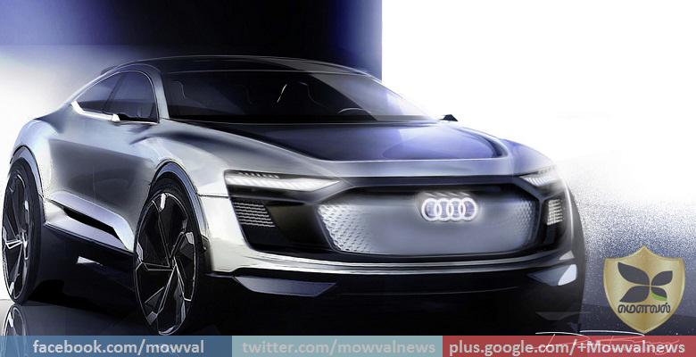 Audi e-tron Sportback Concept Teased