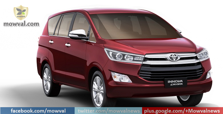 Toyota innova Crysta received 18,000 bookings with in a month