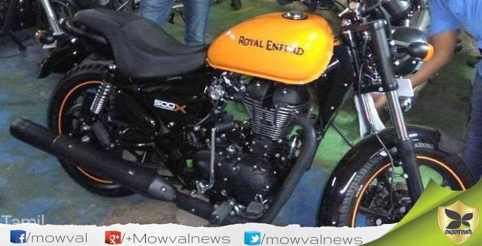 New Royal Enfield Thunderbird 500X Images Spied
