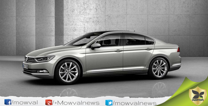 Volkswagen Passat To Launch Again In India On October 10
