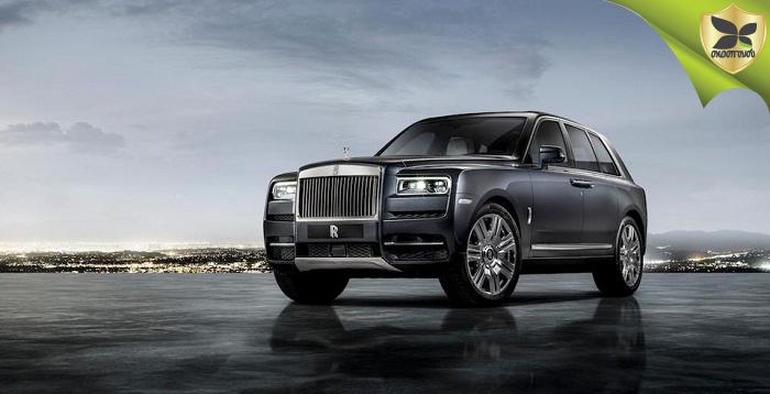 Rolls-Royce Cullinan Luxury SUV Makes World Debut