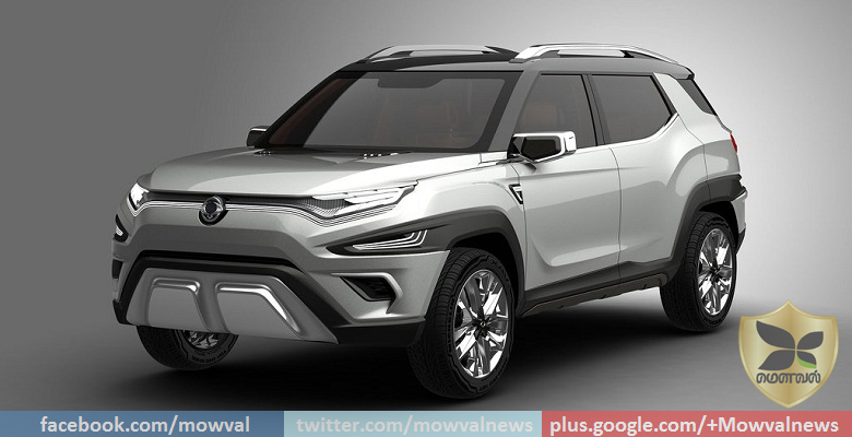 Geneva Motor Show 2017: Imges Of Ssangyong XAVL concept