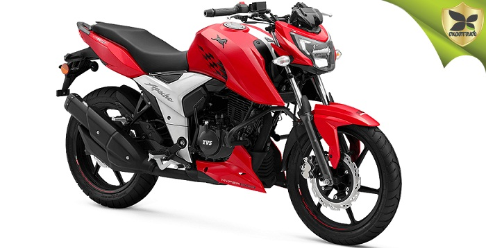 TVS Launched The 2018 Apache RTR 160 4V