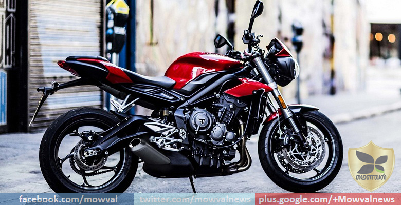 2017 Triumph Street Triple Booking Begins