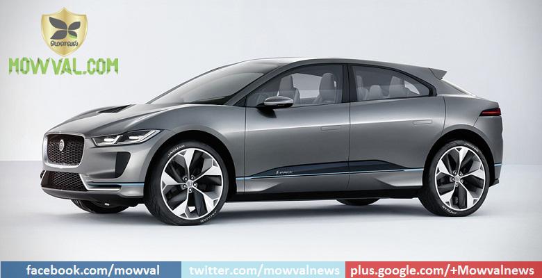 Jaguar Unveils I-Pace Electric SUV Concept