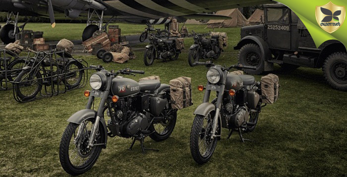 Royal Enfield Revealed Limited Edition Classic 500 Pegasus