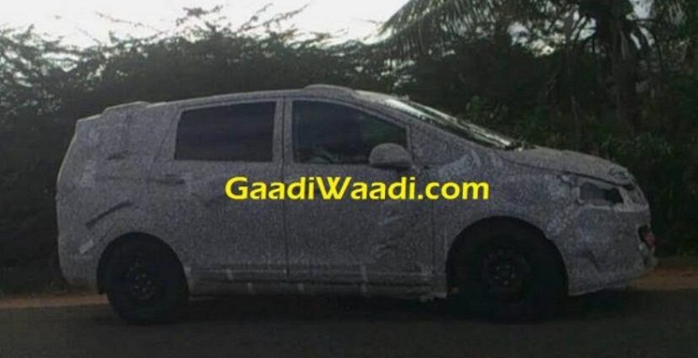 Mahindra testing The New MPV