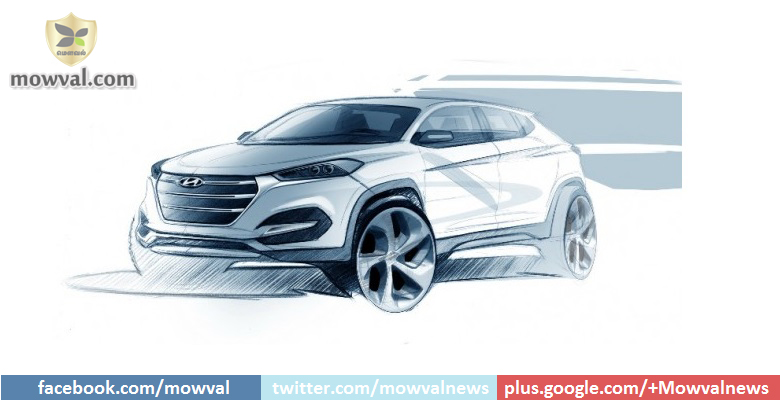 Hyundai Revealed The Tucson Design Sketches