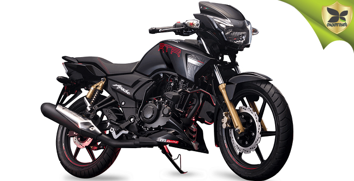 TVS Motors Introduces 2019 Apache RTR 180