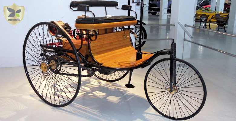 GEDEE Museum's Worrld's first car Benz Motorwagon's replica comes to chennai