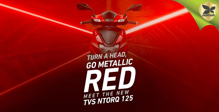 TVS NTORQ 125 crosses 1 lakh sales mark; launches new Metallic Red colour