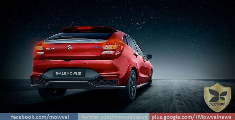 Online booking for Maruti Suzuki Baleno RS now open