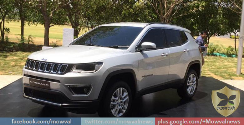 Jeep Compass SUV Unveiled In India