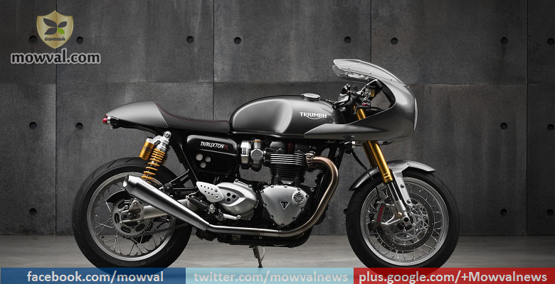 2016 Triumph Thruxton R To Be Launched In India on June 3