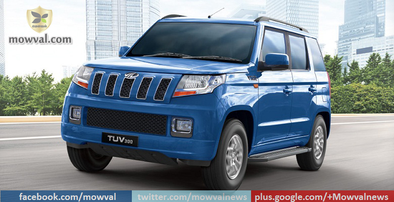 Mahindra TUV300 Launched with mHAWK100 engine at price of Rs 9.14 Lakh