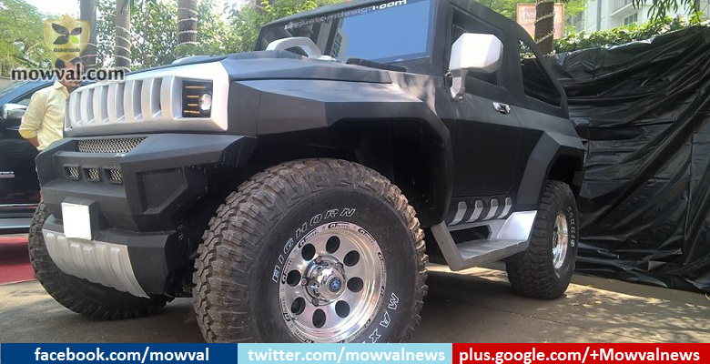 Differently Modified Mahindra Thar