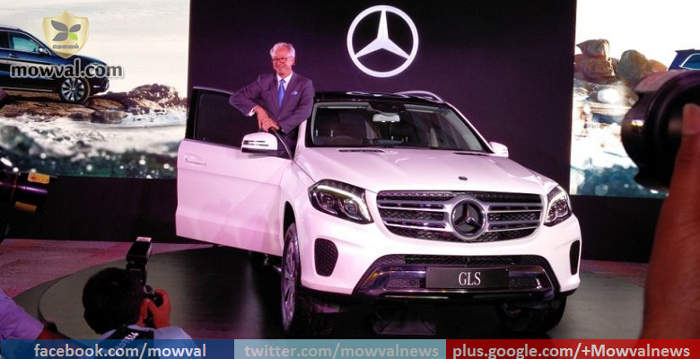 Mercedes-Benz GLS SUV launched at price of Rs. 80.4 lakh