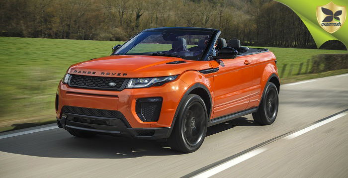 Range Rover Evoque convertible To Be launched End OF This Month