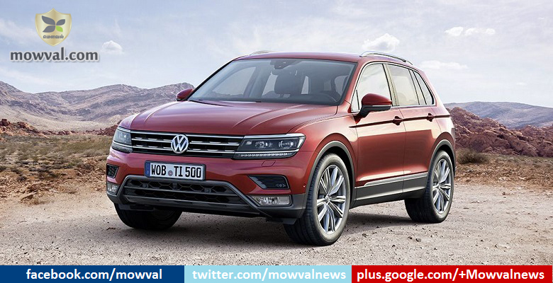 The Volkswagen Tiguan launched globally