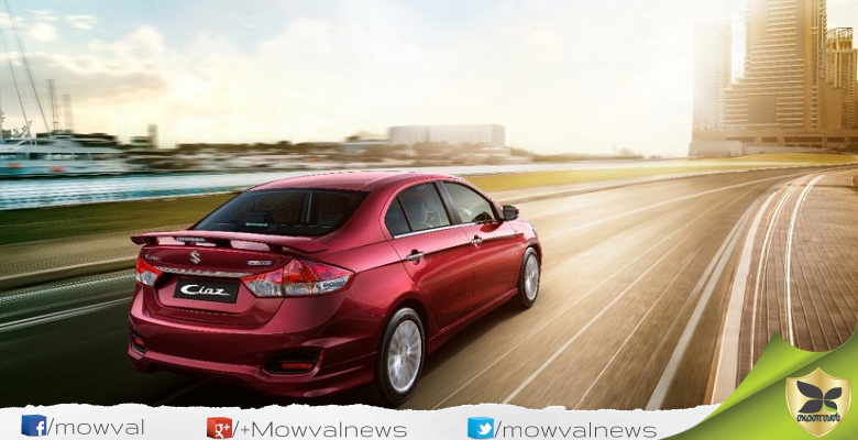 Maruti Suzuki Launches The New Sportier Ciaz