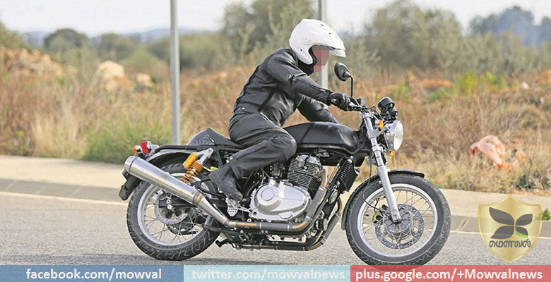 Parallel-Twin 750 CC Royal Enfield Continental GT Spied