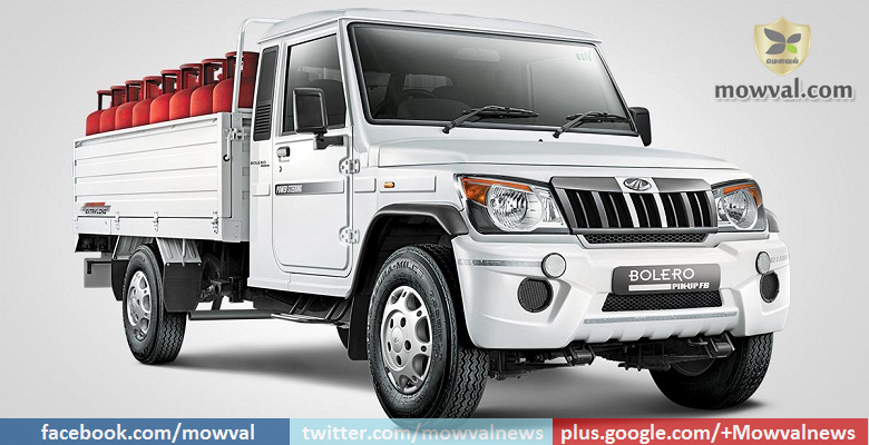 The new Mahindra Big Bolero Pick-up truck launched at starting price of Rs. 6.15 Lakh