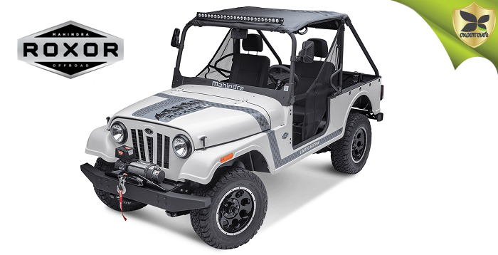 Mahindra Roxor Off-Road Model Revealed In The United States