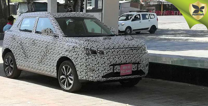 Mahindra S201 Production Ready Model Spotted On Test