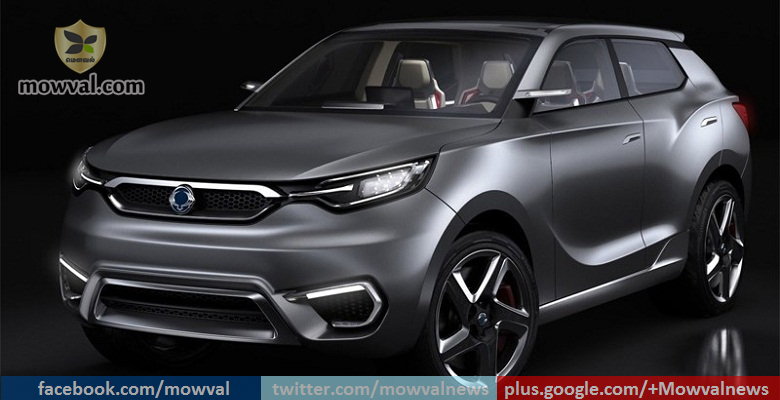 SsangYong will Reveal the next-gen Rexton at 2016 Paris Motor Show