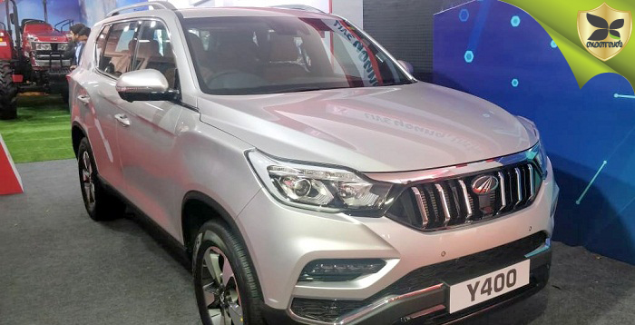 Mahindra To Launch Its Luxury SUV, Codenamed Y400, On November 19