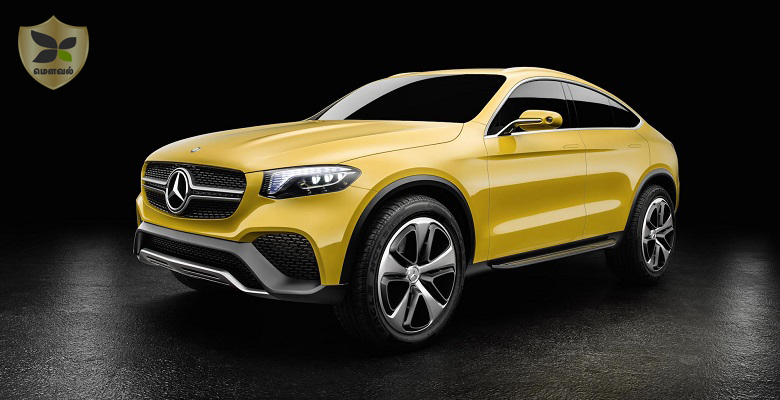 Mercedes-Benz revealed the GLC Coupe