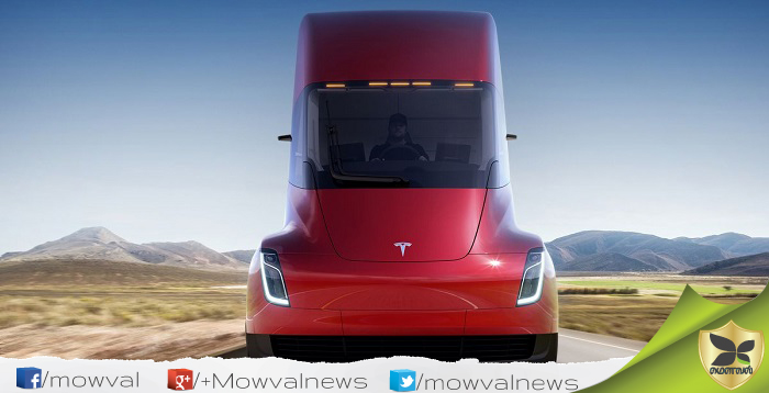 Tesla Revealed Its First Electric Truck - Semi