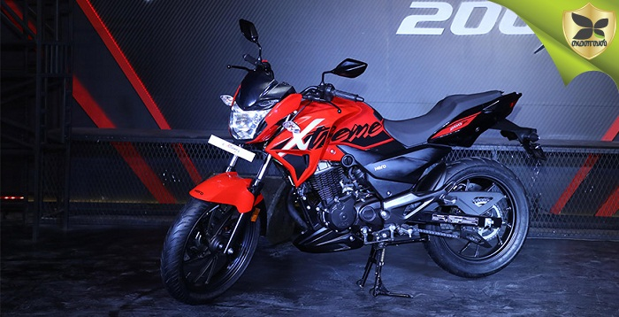 Hero MotoCorp Revealed The Xtreme 200R