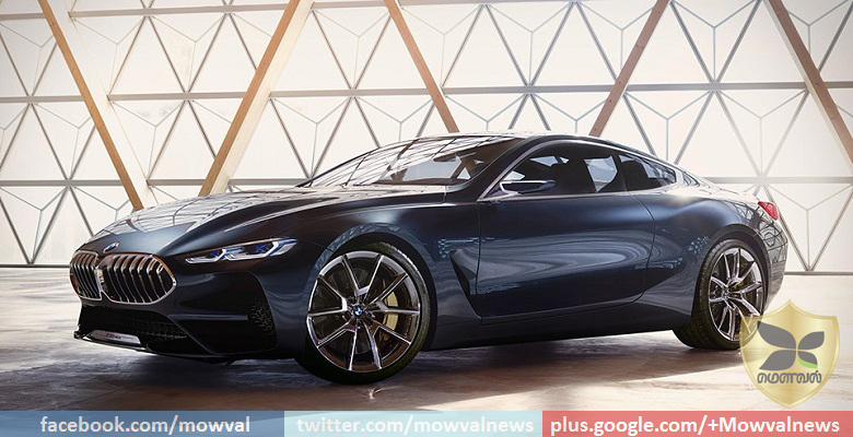 BMW 8 Series Coupe Concept Revealed
