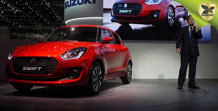 2018 Delhi Auto Expo: New Gen Maruti Suzuki Swift Launched