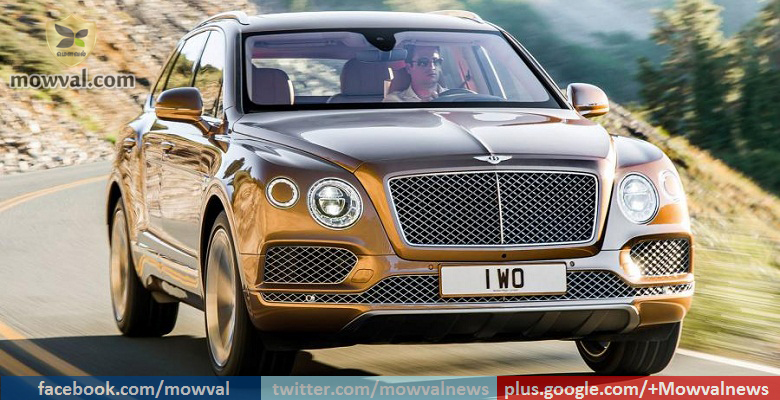 Bentley Bentayga SUV launched in India at price of Rs. 3.85 crore
