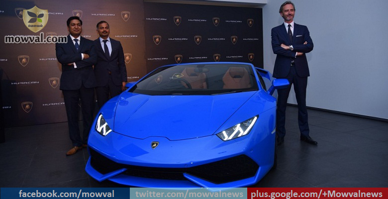 Lamborghini Huracan Spyder Launched at price of Rs 3.89 Crore
